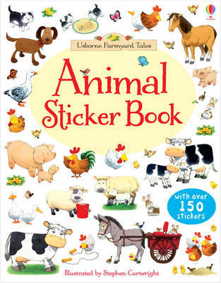 Animals Sticker Book (Usborne Farmyard Tales)