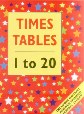 Times Tables - 1 to 20 (Big Book)