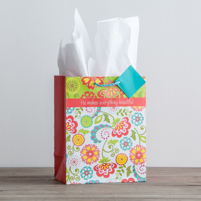 Flowers Rejoice gift bag 51953