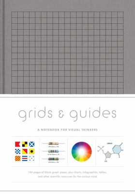 Grids  Guides (Gray): A Notebook for Visual Thinkers