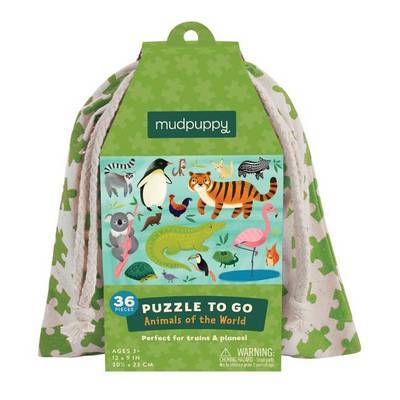 Animals of the World (Puzzle to Go)