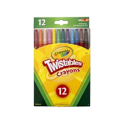 Twistable Crayola Crayons Pack of 12 - 16160 - GNS