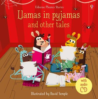 Llamas in Pajamas and Other Tales (Book & CD)