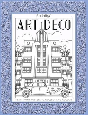 Art Deco (Art to Collect and Colour Prints)