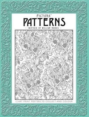 Patterns Inspired by William Morris (Art to Collect and Colour Prints)