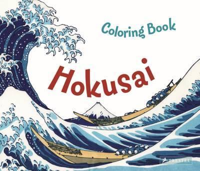 Hokusai Colouring Book