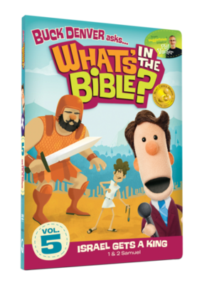 DVD What's in the Bible: Israel gets a King (#5)