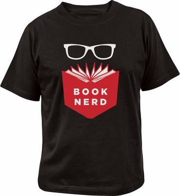 Book Nerd T-Shirt Medium