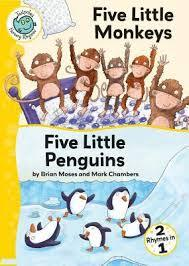Five Little MonkeysAnd Five Little Penguins