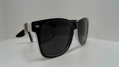 All Black Bamboo Blonde Sunglasses
