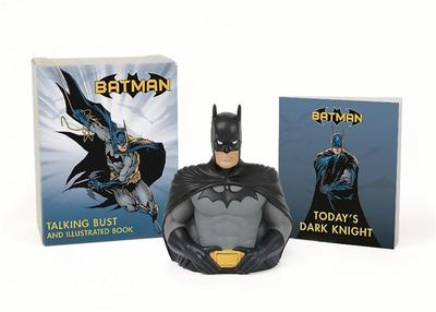 Batman: Talking Bust and Illustrated Book