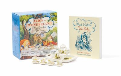 Alice in Wonderland Mad Hatter Tea Party (Mini Book & Tea Set)