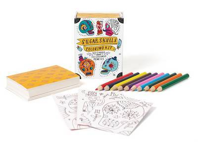Sugar Skulls Colouring Kit