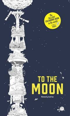 To The Moon The Longest Colouring Book in the World