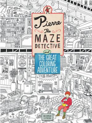 Pierre: The Maze Detective and The Great Colouring Adventure