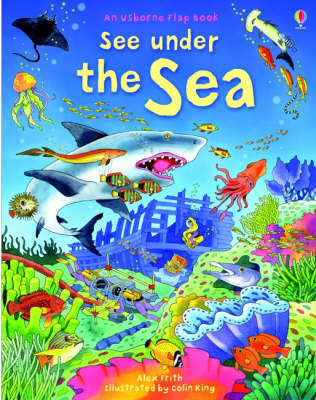 See Under the Sea (Usborne Lift-the-Flap Board Book)