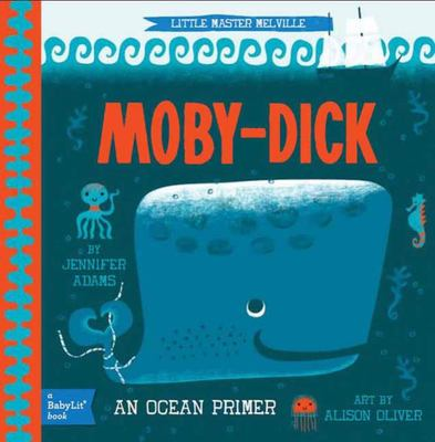 BabyLit Little Master Melville: Moby-Dick
