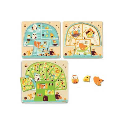 Three Layer Treehouse Puzzle