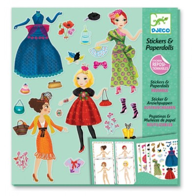 Djeco Paper Dolls - Massive Fashion