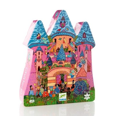 The Fairy Castle - 54 Piece Puzzle