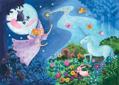 The Fairy and the Unicorn 36-piece Puzzle