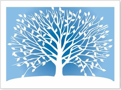 Tree of Life Notecards pk10 (0316)