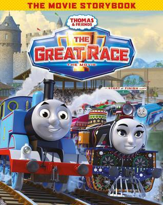Thomas & Friends Race to the Finish Movie Storybook