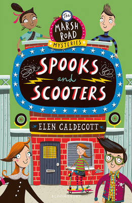Spooks and Scooters (Marsh Road Mysteries #3)