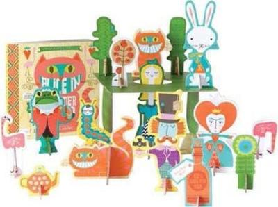 BabyLit Alice in Wonderland Playset with Book: Colors Primer Book and Playset