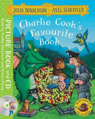 Charlie Cook's Favourite Book (PB & CD)