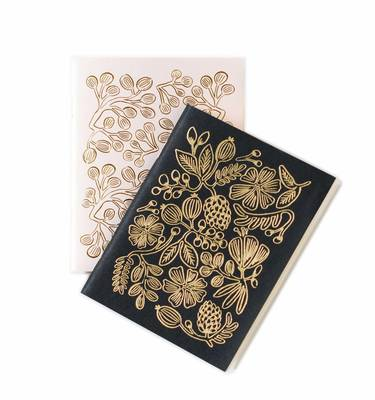 Rifle Notebooks Pocket Gold Foil pack of 2