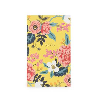 Birch Floral Pocket Notebook.