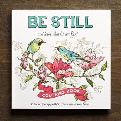 Book be Still (Adult Coloring Book)