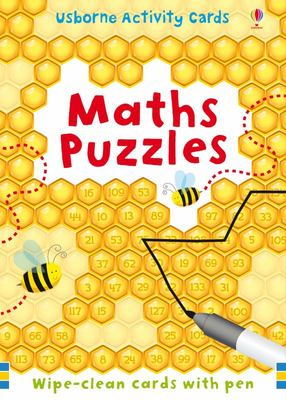 Maths Puzzles (Usborne Activity Cards)