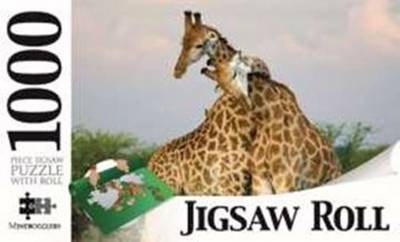 Giraffes 1000-Piece Jigsaw with Mat