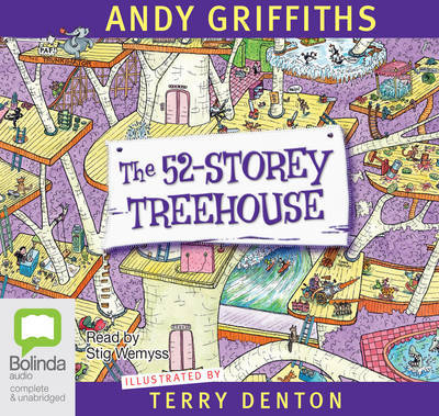 The 52-Storey Treehouse (Audio CD; unabridged; 2 CDs)