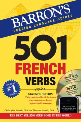 501 French Verbs 7th Ed with CD-ROM and MP3