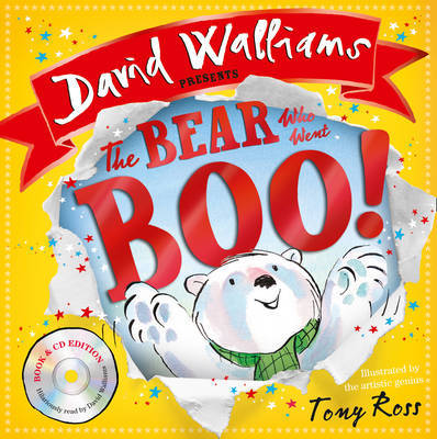 The Bear Who Went Boo! (Book & CD)
