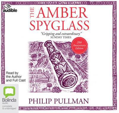 The Amber Spyglass audio cd