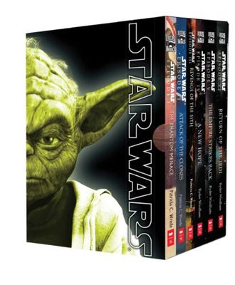 Star Wars (Movie Novel Box Set) 6 Books