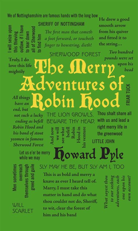 The Merry Adventures of Robin Hood (Word Cloud Classics)
