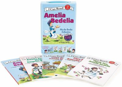 Amelia Bedelia Hit the Books Collection (I Can Read Box Set #1)