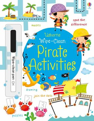 Pirate Activities (Usborne Wipe-Clean Activities)