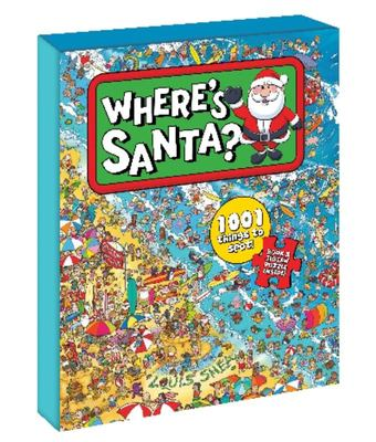 Where's Santa? Book and Jigsaw Puzzle Boxed Set