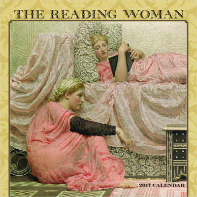 The Reading Woman 2017 Mini Wall Calendar (POM-U630)