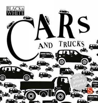 Cars and Trucks (Black & White)