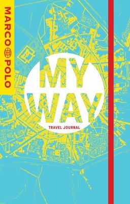 My Way Travel Journal - City Map Cover