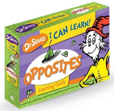 Dr Seuss Opposites Learning Cards