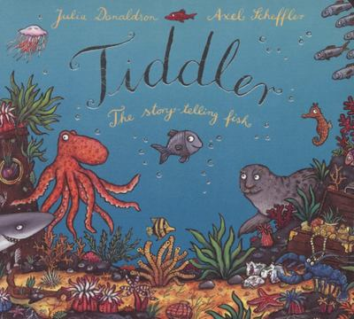 Tiddler the Story-Telling Fish (Board Book)