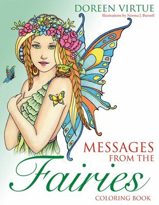 Messages from the Fairies Coloouring Book